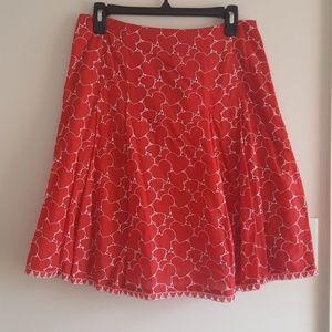 Valentine Heart A Line Skirt